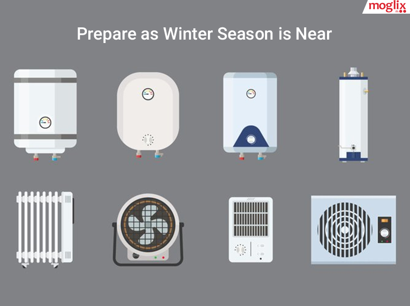 Prepare as Winter Season is Near: Need for Water Heaters and other Essential Appliances