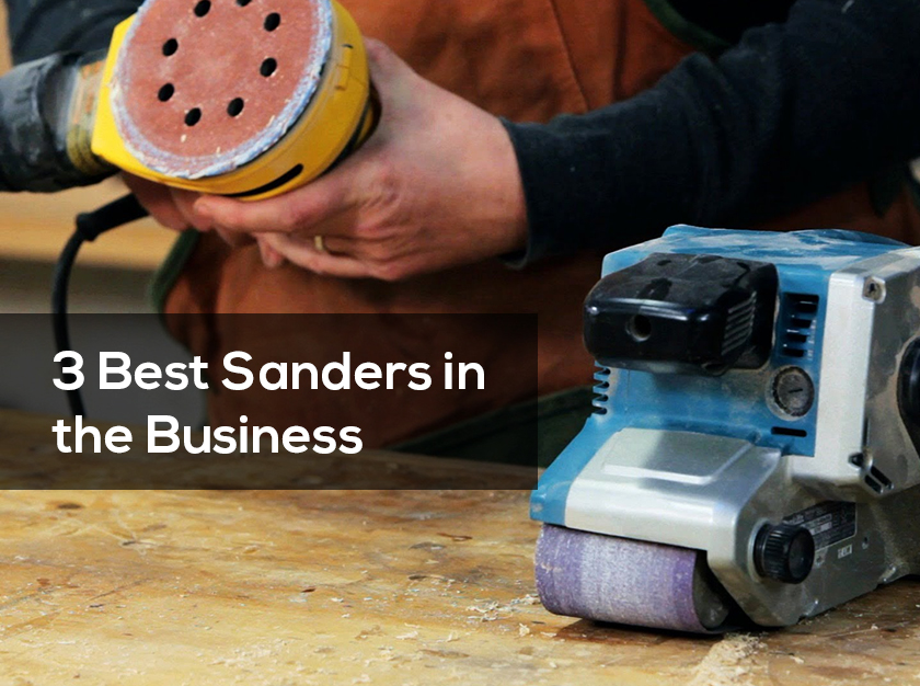 Sanders are the best, quickest, and easiest way to smooth surface. They have the abilities, to convert, the most tedious tasks, into something more pleasant.