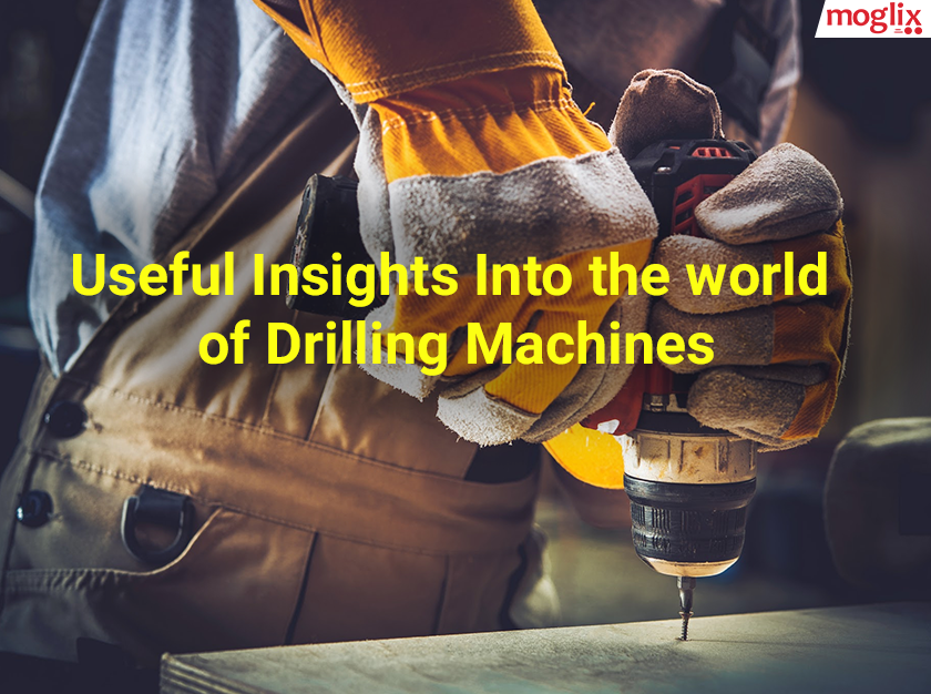 Drilling machines are tools, which are widely used by technicians to create holes in different types of surfaces such as wood, aluminum, steel and concrete.