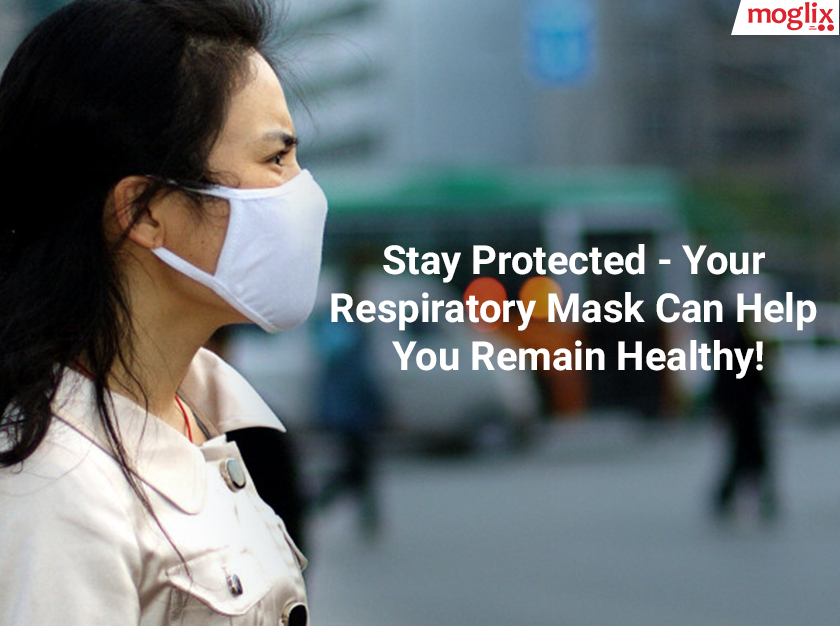 Respiratory masks provide protection against development of illnesses, as it filters out most of the suspended particulate matter in the air.