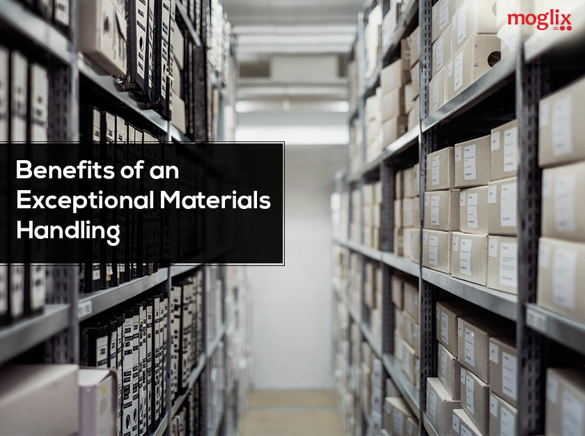 Material handling holds a crucial importance in outlining an efficient logistics & warehouse operations. The process of material handling is very important.