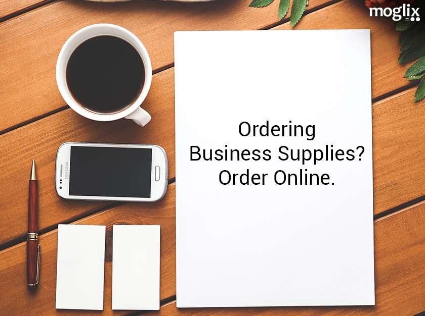 Ordering Business Supplies? Order Online.