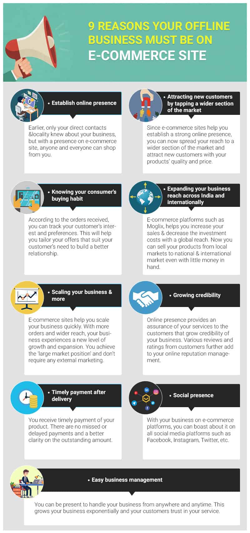why bring offline SME business online