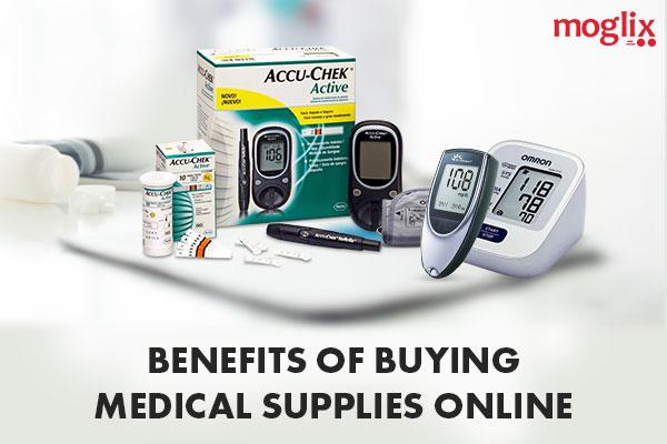 benefits of medical supplies online