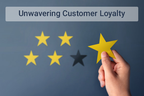 Unwavering Customer Loyalty