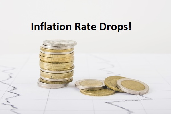 inflation drops