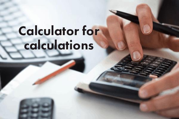Calculator: People's best friend