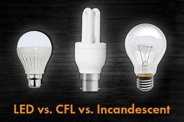LED vs. CFL vs. Incandescent: Which shines best?