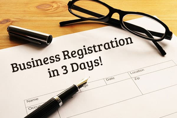 Government New Policy: Business Registration in 3 Days!