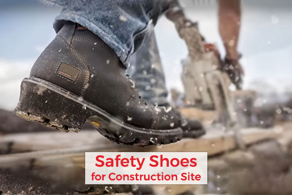 Buy Best Safety Shoes for Construction Site