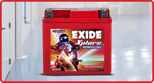 Exide Xplore Battery