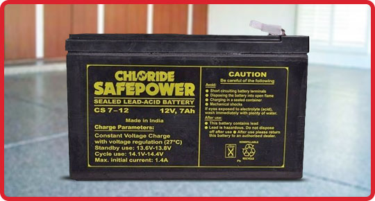 Exide Chloride Battery