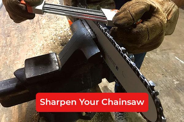 Sharpen your Chainsaw