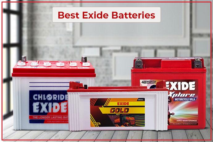Best Exide Batteries