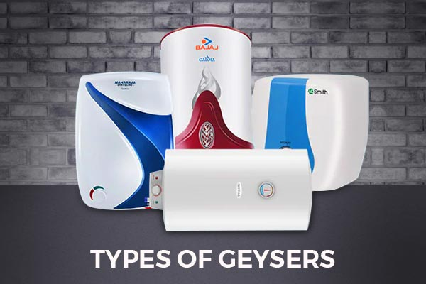 Types of Geysers