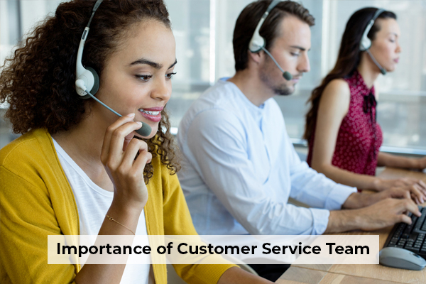 Importance of Customer Service Team
