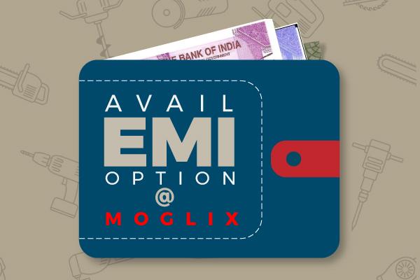 Avail EMI Option at Moglix